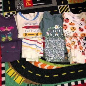 4 pajama sets